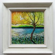 SCARLETT RAVEN & MARC MAROT limited edition (12/195) giclee print on canvasboard - 'Washed By the