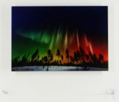 RICHARD ROWAN limited edition (75/295) giclee on glass - 'Nature Awakens', entitled verso, signed