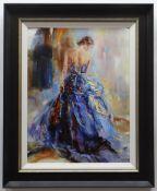 ANNA RAZUMOVSKAYA hand embellished limited edition (52/195) giclee on canvasboard - 'Story of Love