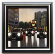 NEIL DAWSON limited edition (14/150) giclee on canvasboard - entitled verso 'Afternoon Shower',