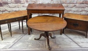 ASSORTED OCCASIONAL FURNITURE including a nest of three Georgian-style tables, 18th Century-style