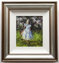 SHERREE VALENTINE DAINES embellished limited edition (112/195) giclee print canvas on board -