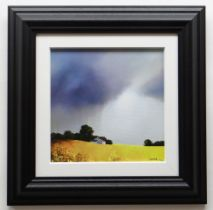 BARRY HILTON embellished limited edition (178/195) giclee print canvas on board - entitled verso '