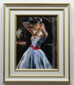 SHERREE VALENTINE DAINES hand embellished limited edition (18/49) giclee print canvas - 'Between