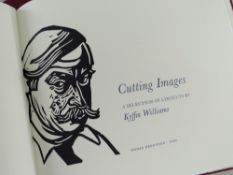 SIR KYFFIN WILLIAMS RA limited edition (155/275) volume of 'Cutting Images' printed on T H