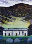 OGWYN DAVIES limited edition (7/50) print - the popular image 'Soar y Mynydd', an iconic and