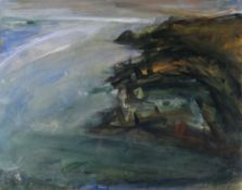 PETER PRENDERGAST limited edition (25/75) print - entitled 'White Light on the Sea, North Anglesey