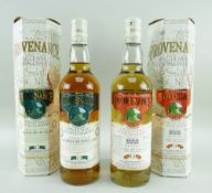 TWO BOTTLES OF THE MCGIBBON'S PROVENANCE SPECIAL SELECTIONS comprising Spring distillation single