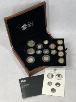 ROYAL MINT 2015 UNITED KINGDOM PREMIUM PROOF COIN SET, complete from a limited edition of 5000 (