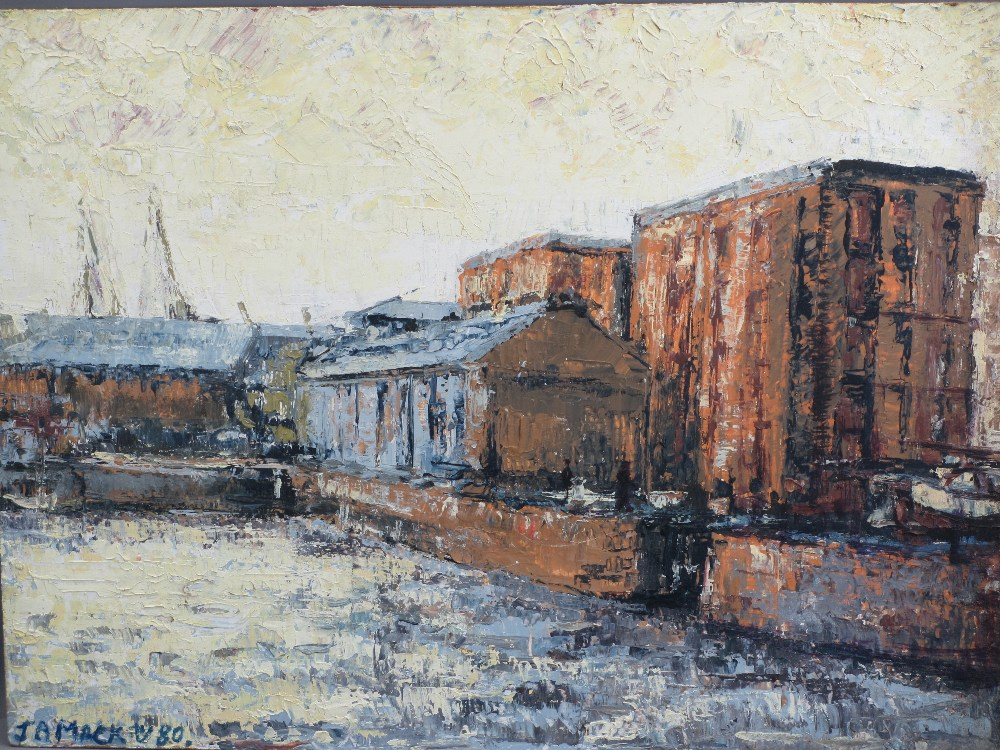 ALAN MACKAY known as L S LOWRY of Merseyside (1943 - 2008) - acrylic on board - a pair of Albert - Image 2 of 3