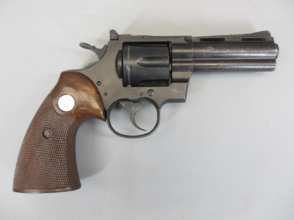 AMENDMENT - COLT REPLICA NON-FIRING PYTHON 357 MAGNUM REVOLVER, boxed, MGC model Gun Co made - Image 3 of 3