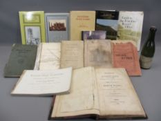 NORTH WALES INTEREST COLLECTORS' BOOKS (12), CD titled 'North Wales Directories' and a vintage