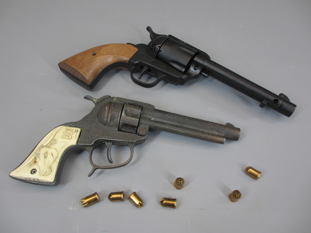 REPLICA REVOLVERS (2) to include a Webley ME Ranger 9mm single Action 6 shot blank firing revolver - Image 2 of 2