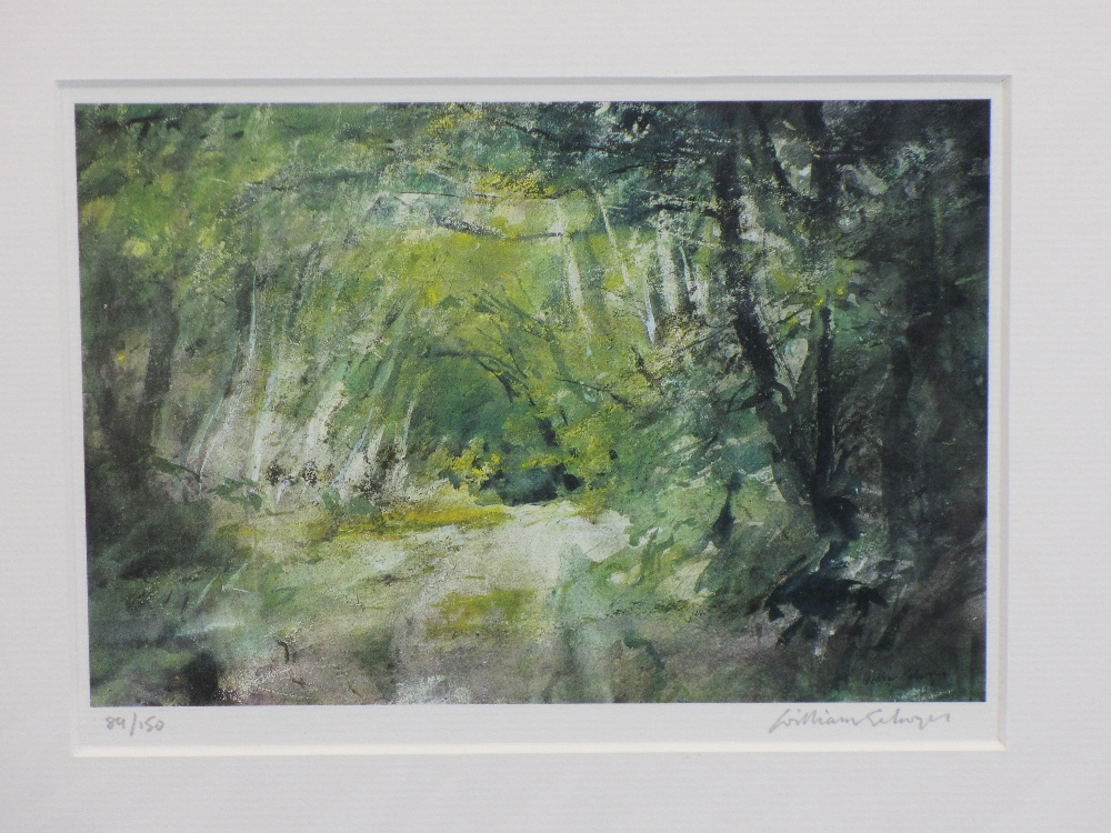 WILLIAM SELWYN limited edition prints (2) 115/150 and 89/150 - Snowdonia and a leafy lane scene, - Image 3 of 3