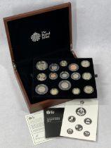 ROYAL MINT 2014 UNITED KINGDOM PREMIUM PROOF COIN SET, complete limited edition set No 1138/4500
