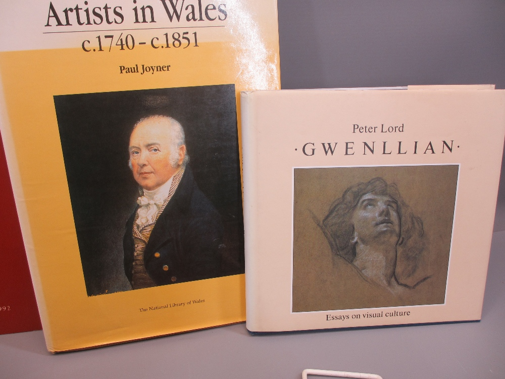 WELSH ARTISTS BOOKS & CATALOGUES (13), Paul Joyner 'Artists in Wales 1740 - 1851' , National Library - Image 6 of 8