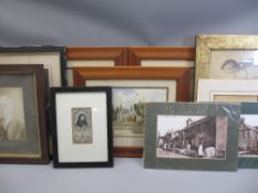 VINTAGE & LATER PICTURES & PRINTS - a mixed quantity
