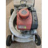 HONDA HR215 petrol lawnmower
