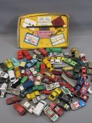 DIECAST VEHICLES - Matchbox, Corgi, Dinky, ETC. Also, a children's magic set