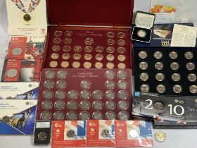 OLYMPICS, COMMONWEALTH GAMES and other sporting commemorative coins to include 2008 Olympic Handover