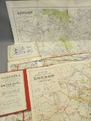 LONDON MAPS (3) to include a 1913 Post Office Directory Map by Kelly's Directories, The District