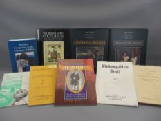 WELSH ART & CULTURE BOOKS (8) and a 1967 auction catalogue for Bodysgallen Hall conducted by