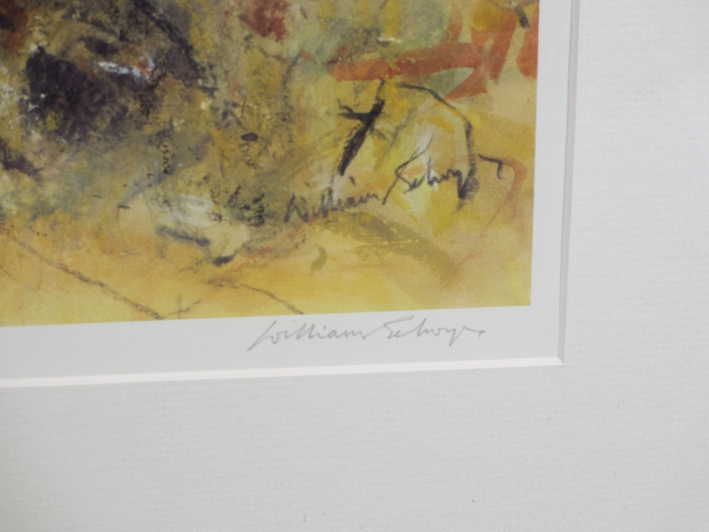 WILLIAM SELWYN limited edition print 163/500 - Snowdonia, signed in pencil, mounted but unframed, 43 - Image 2 of 3