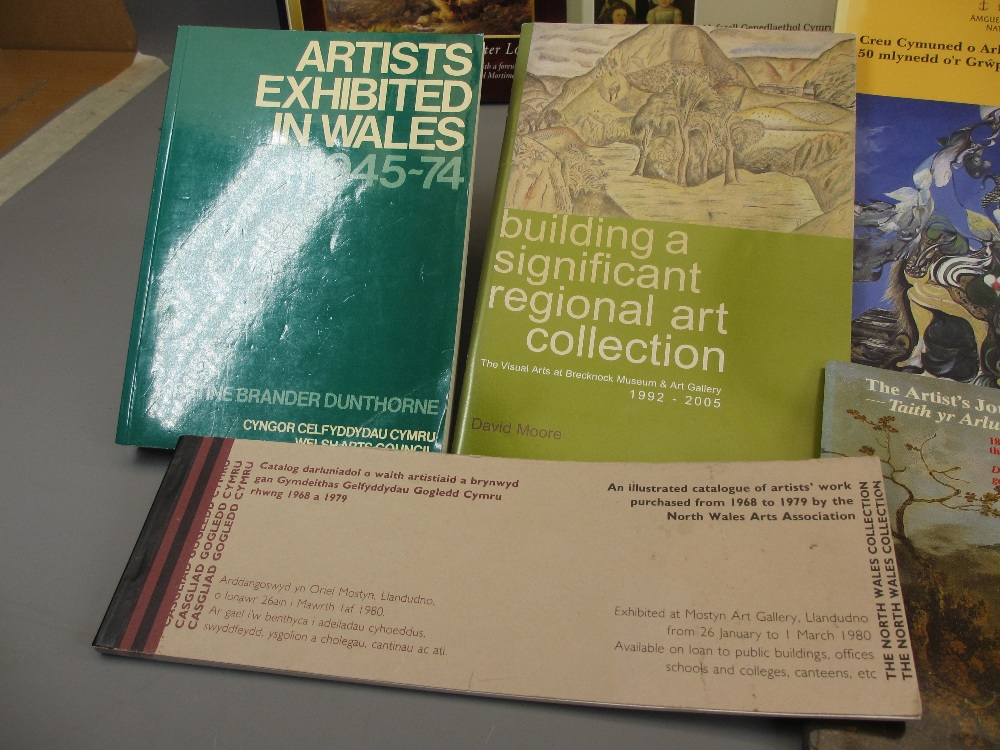 WELSH ARTISTS BOOKS & CATALOGUES (13), Paul Joyner 'Artists in Wales 1740 - 1851' , National Library - Image 3 of 8