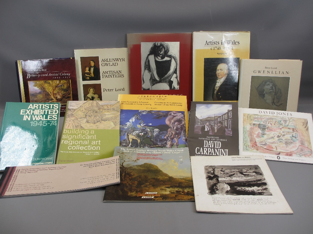 WELSH ARTISTS BOOKS & CATALOGUES (13), Paul Joyner 'Artists in Wales 1740 - 1851' , National Library