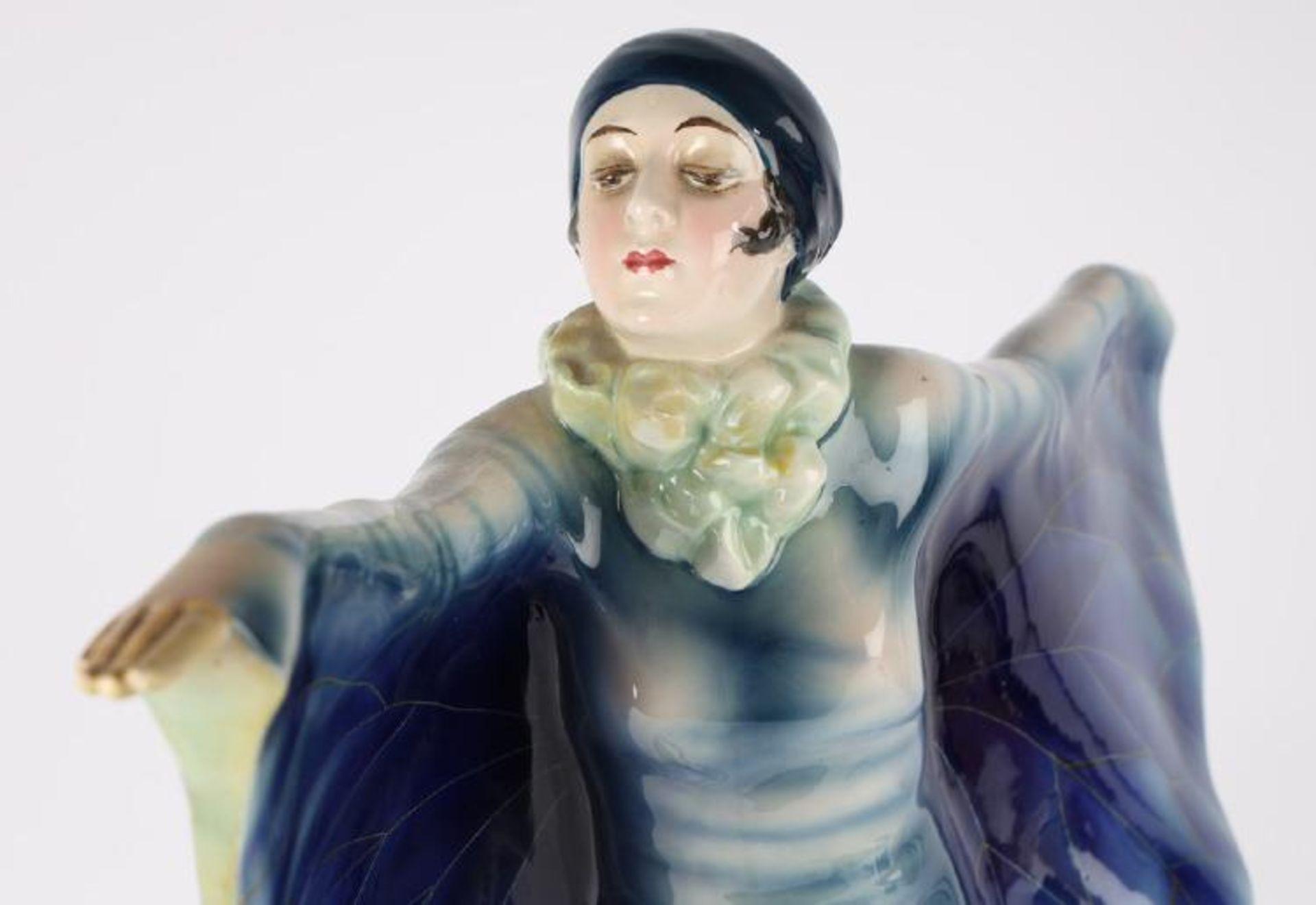 Josef Lorenzl (1892-1950). Große Tänzerin. Goldscheider. H. ca. 47cm. KOSTENLOSER VERSAND - Bild 2 aus 4