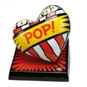 Burton Morris (*1964, Pittsburgh), US-Amerikanischer Künstler der POP-Art. Porzellanherz POP.