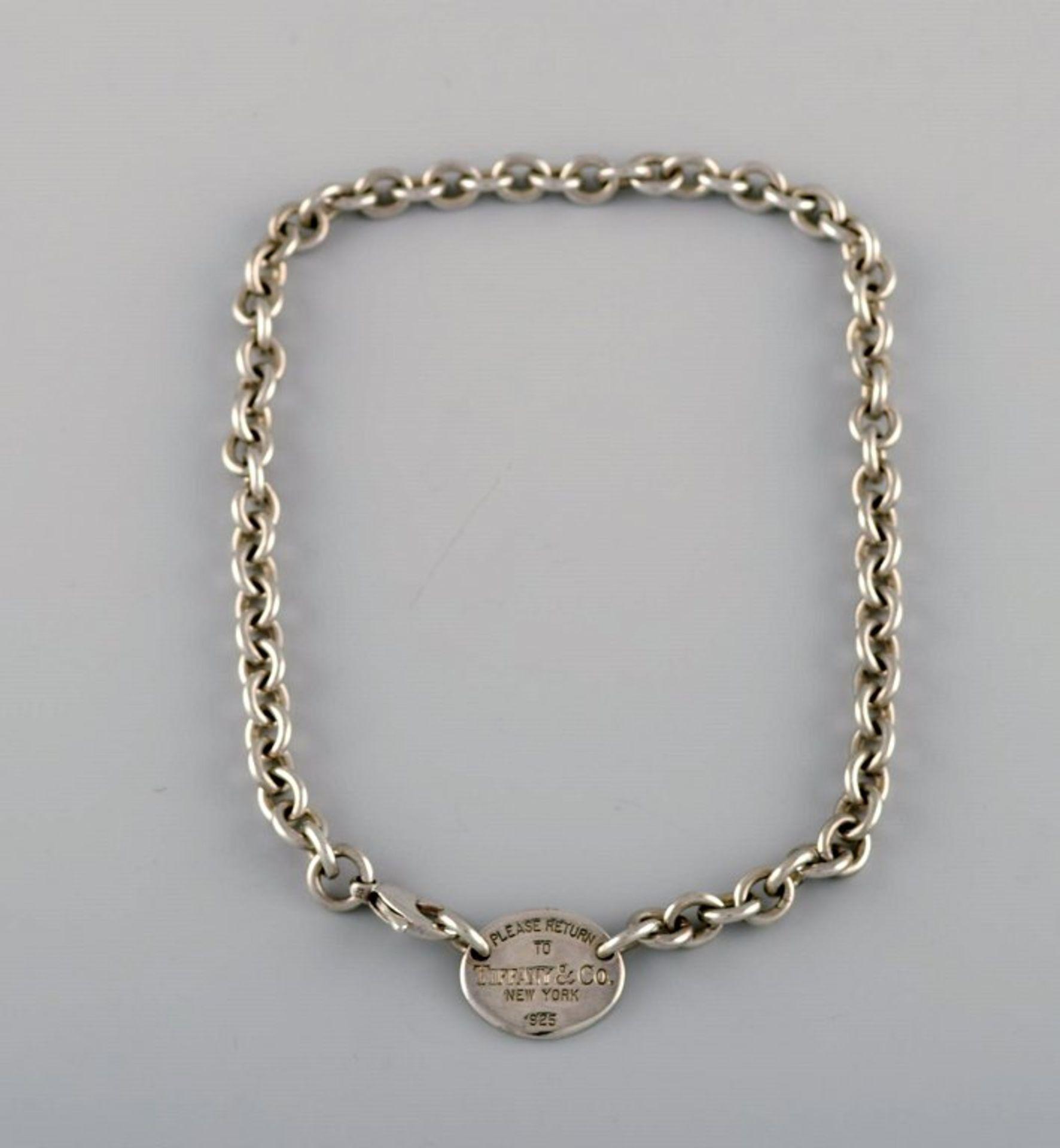 Tiffany & Company (New York). Halskette. Ca. 40cm. .