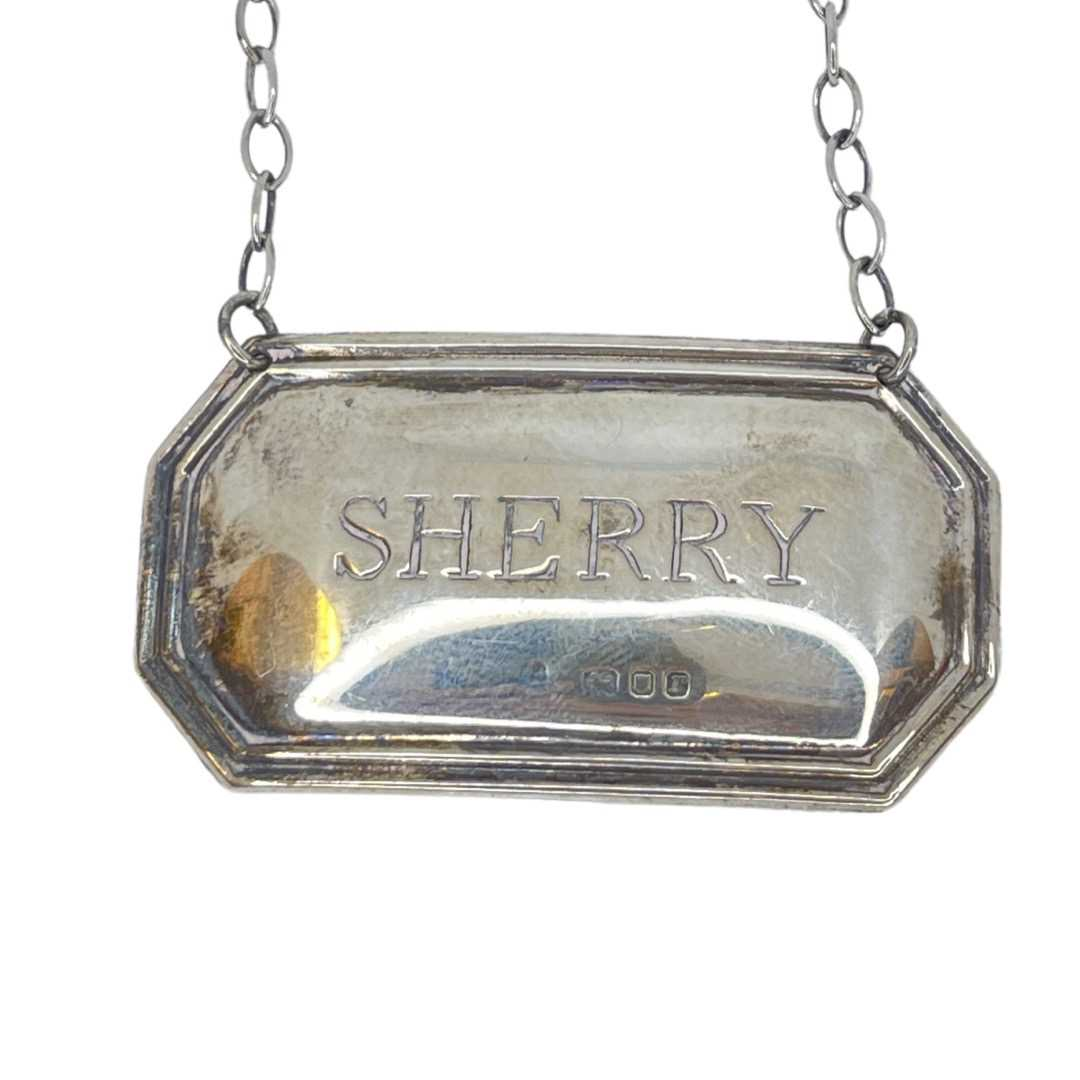 Silver Sherry And Brandy Labels - Image 4 of 4