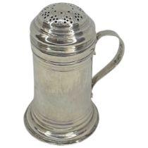 Georgian Silver Kitchen Pepper. 81 g. Dinah Gamon, London 1776