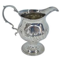 Georgian Silver Cream Jug. 130 g. London c.1810