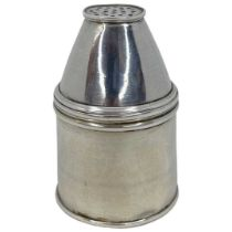 Early, 19th century, unusual French Silver Pepper Pot. 53 g. 1819-1838 Paris mark.