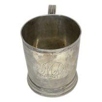 Provincial Silver Mug. 150 g. John Langlands I and John Robertson I, Newcastle 1779