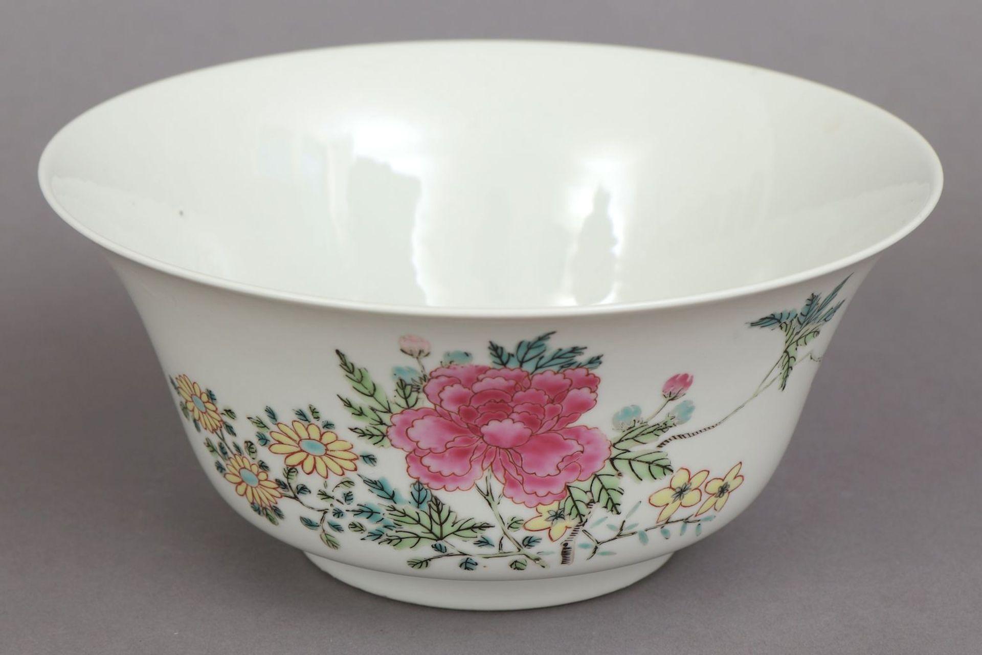 Chinesische Porzellanschale/Kuppa