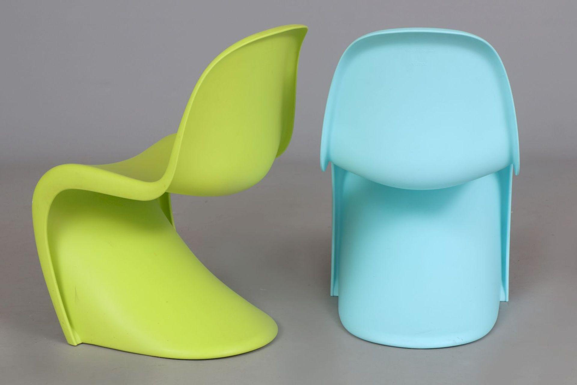 2 VERNER PANTON Kinder (Junior) ¨Panton Chairs¨ - Image 4 of 5