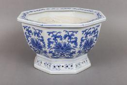 Chinesisches Porzellan Cachepot