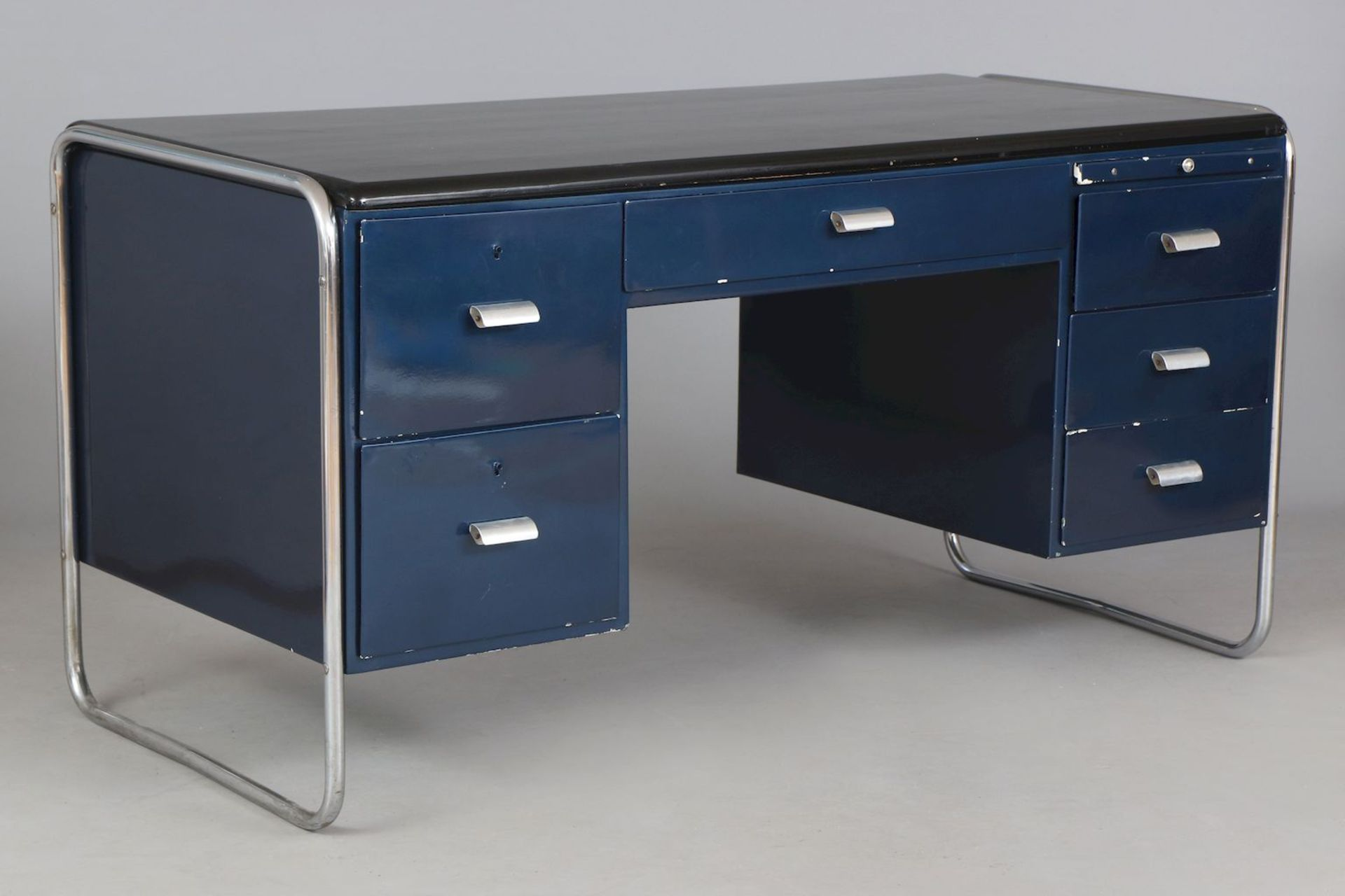 BAUHAUS Schreibtisch der 1930er Jahre - Image 2 of 4