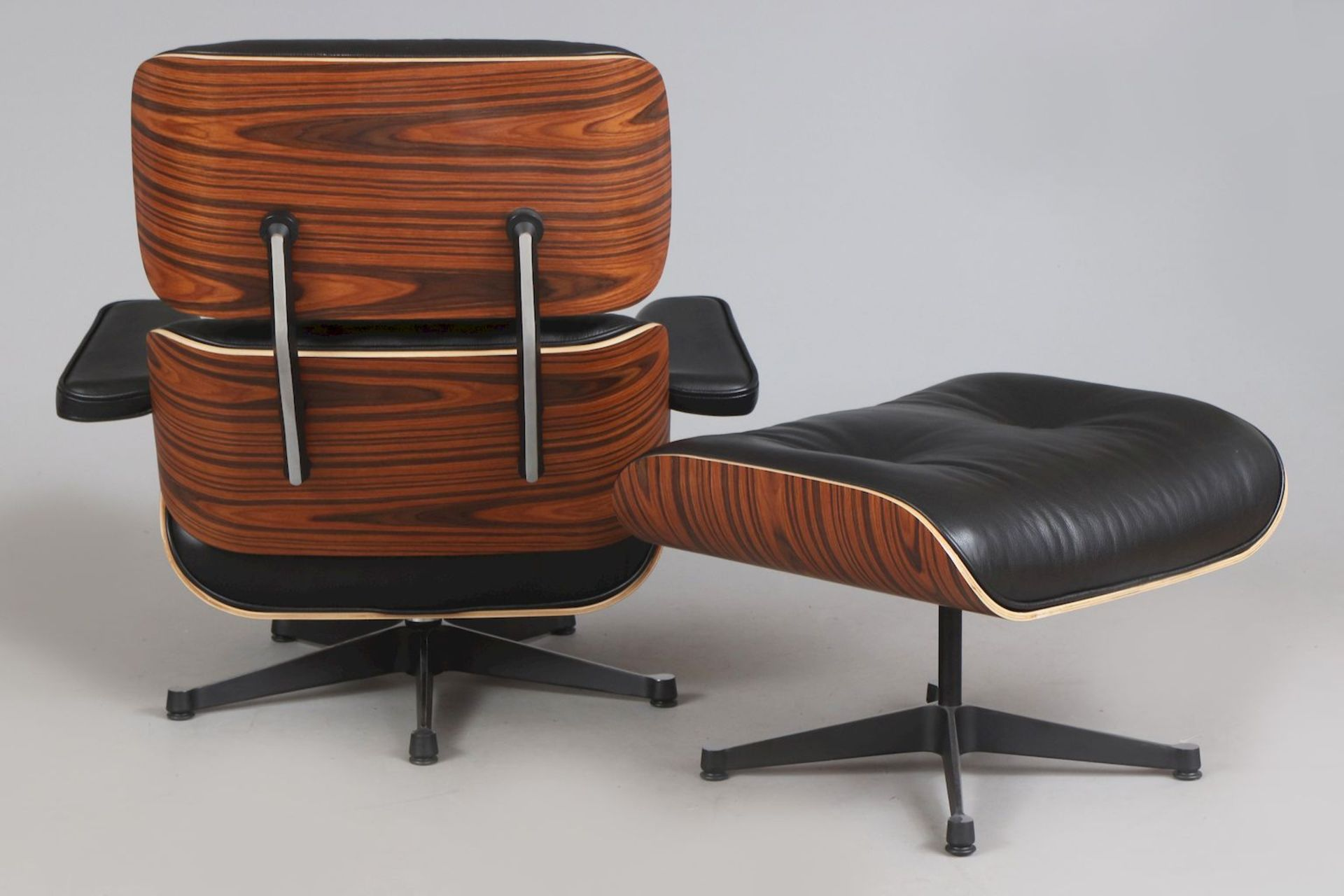 Lounge chair mit Ottomane - Image 4 of 5