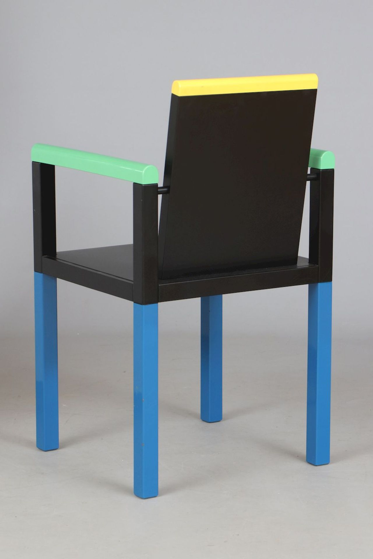 GEORGE JAMES SOWDEN (1942) ¨Palace Chair¨ für MEMPHIS (Milano) - Image 3 of 5
