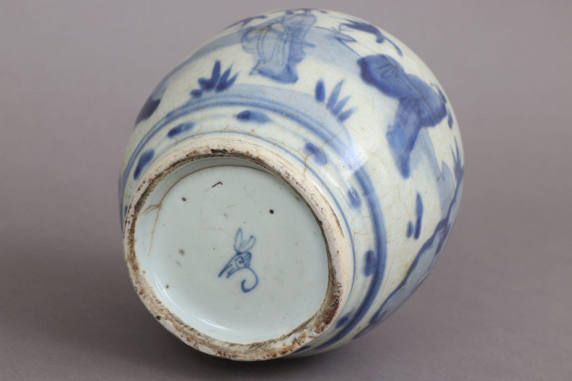 Chinesisches Vorratsgefäß/Ingwertopf der Ming Dynastie (1368-1644) - Image 4 of 5