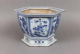 Chinesisches Porzellan Cachepot/Gefäß
