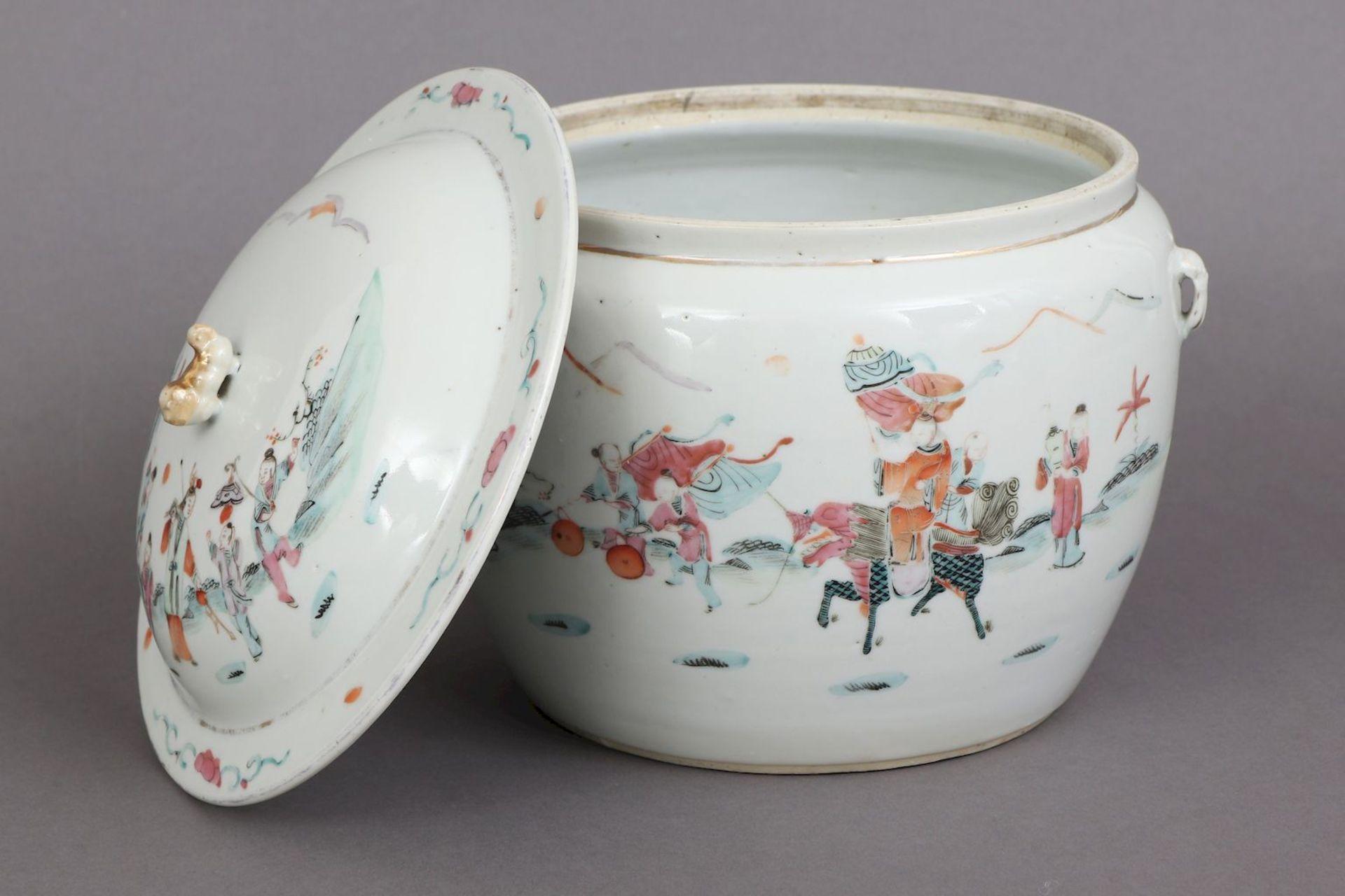 Chinesischer Porzellan Vorratstopf - Image 2 of 5