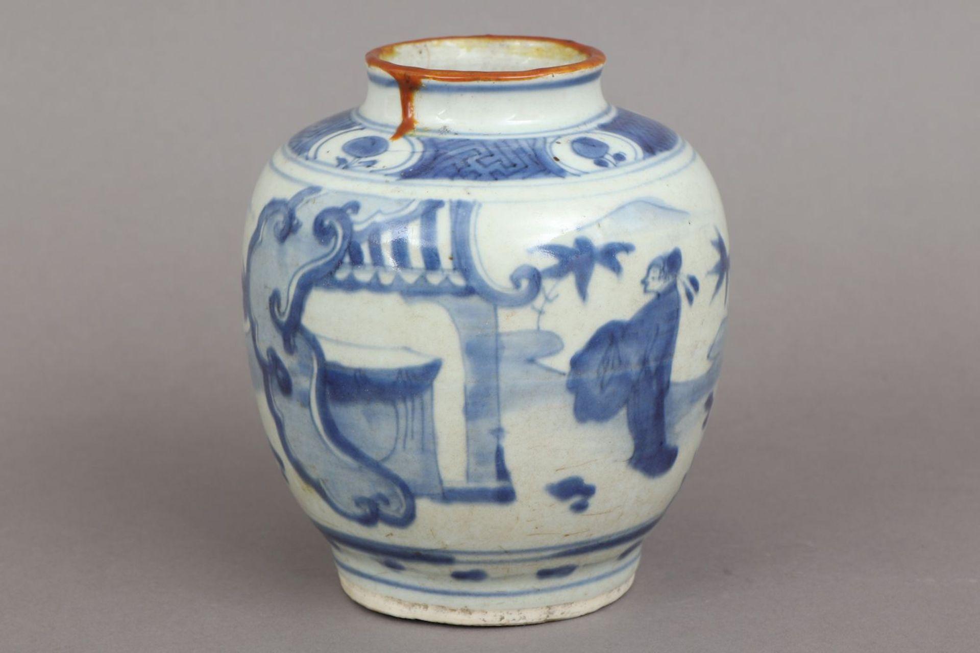 Chinesisches Vorratsgefäß/Ingwertopf der Ming Dynastie (1368-1644)