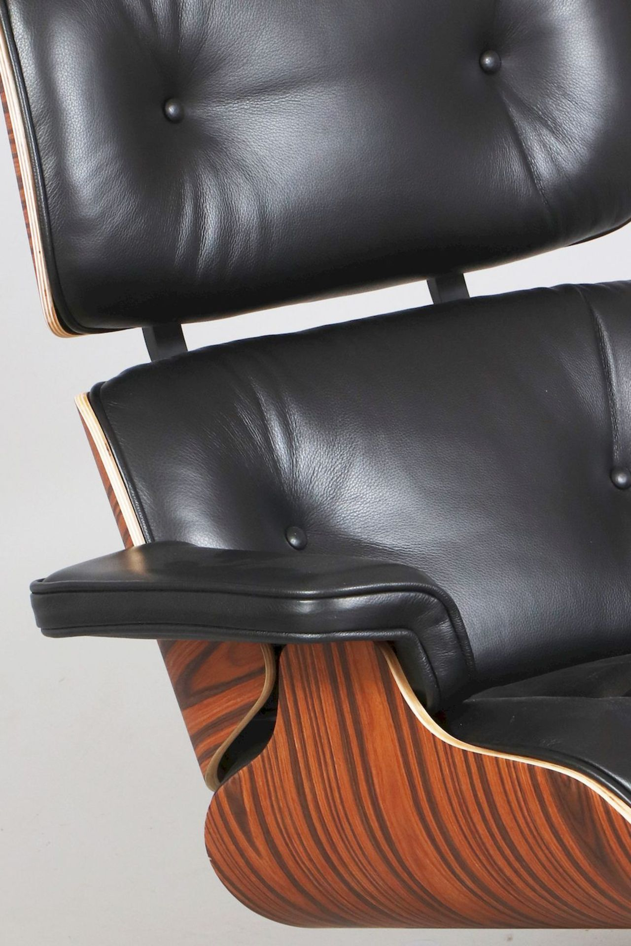 Lounge chair mit Ottomane - Image 2 of 5