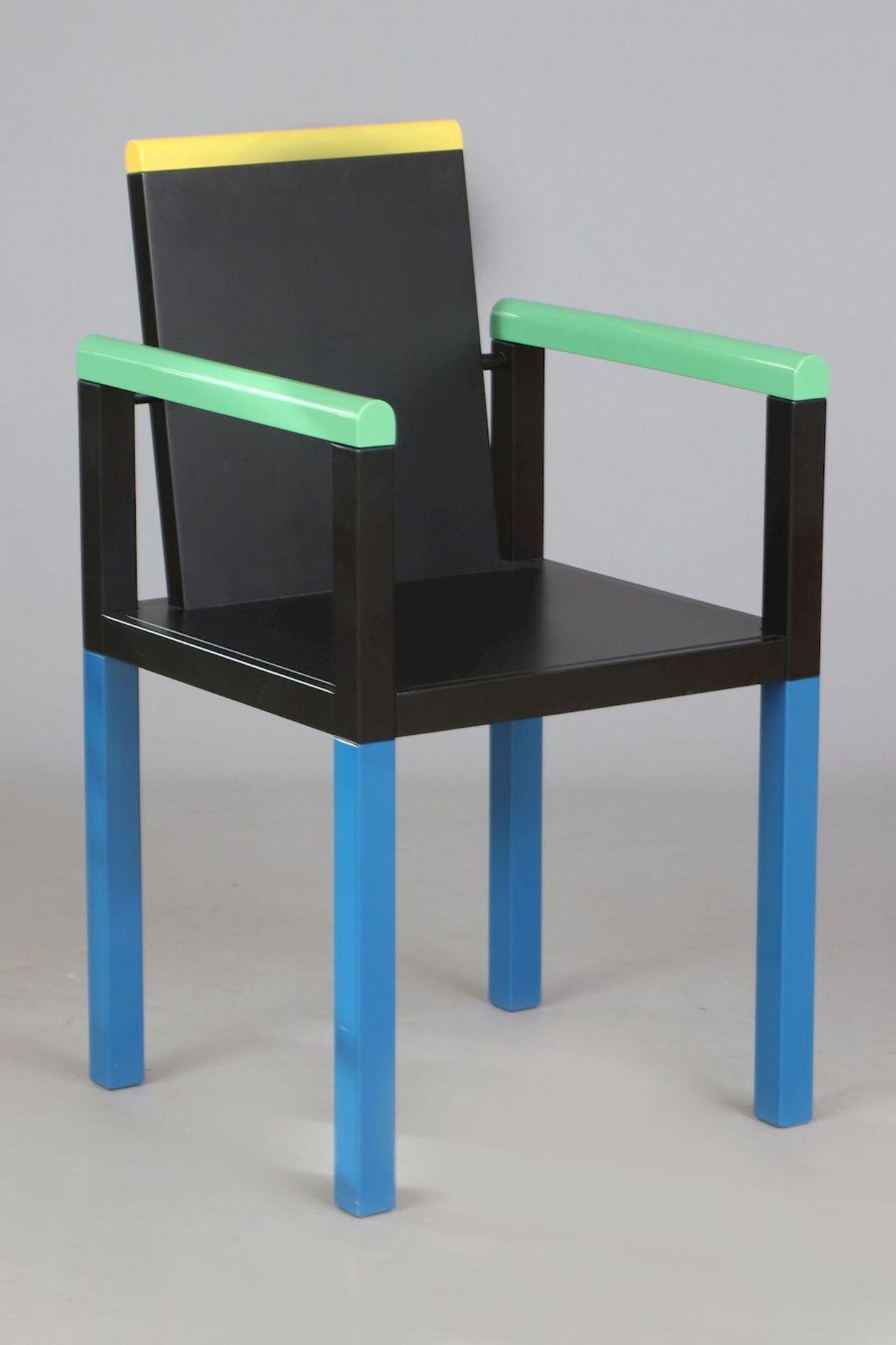 GEORGE JAMES SOWDEN (1942) ¨Palace Chair¨ für MEMPHIS (Milano)