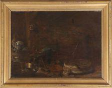 HENDRIK MAERTENSZ SORGH (um 1611 Rotterdam - 1670 ebenda) oder UMFELD